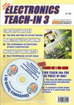 Electronics Teach-In 3 CDROM ONLY