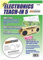Electronics Teach In 5 CDROM ONLY